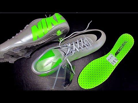 Nike Mercurial Vapor IX 9 Platinum Leather Finish Unboxing ...