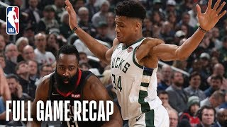 ROCKETS vs BUCKS | Giannis Antetokounmpo & James Harden Face Off In Milwaukee | March 26, 2019