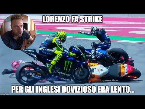 Lorenzo CRASH Catalunya MotoGP 2019 | COLPA di Dovizioso!?!?
