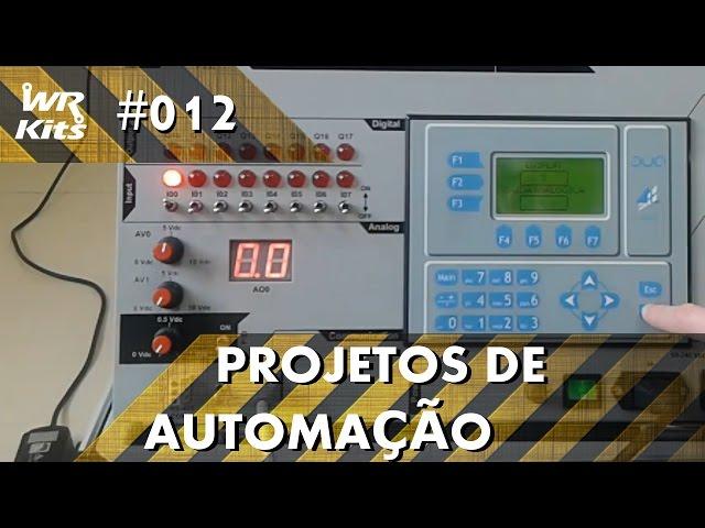 CONTROLE DE SENTIDO DE ROTAÇÃO DE MOTOR NO CLP ALTUS DUO | Projetos de Automação #012