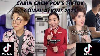 CABIN CREW POV'S TIKTOK COMPILATIONS 2020