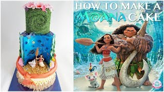 HOW TO MAKE A MOANA CAKE | Abbyliciousz The Cake Boutique