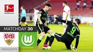 VfB Stuttgart - VfL Wolfsburg   1-3   Highlights   Matchday 30 – Bundesliga 2020/21