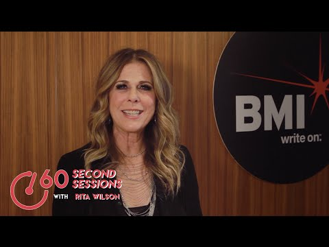Rita Wilson Prefers a 'Girls Night In' | 60 Second Sessions