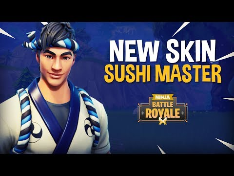 New Sushi Master Skin!! - Fortnite Battle Royale Gameplay - Ninja