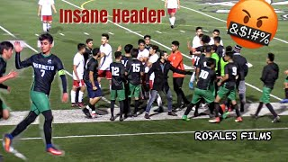 They Almost Got into a Fight - Lincoln vs Montgomery High School Boys Soccer