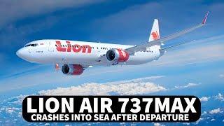 Lion Air 737 MAX Crashes into Sea