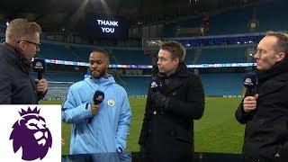 Raheem Sterling talks Man City's dominant win | Premier League | NBC Sports