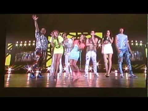 120804 SMTown Tokyo 2012 F(x) feat Super Junior Oops! Part II