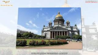 TOUR DU LỊCH NGA ST PETERSBURG MOSCOW