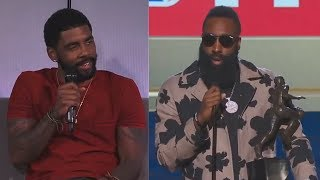Kyrie Irving Calls Out James Harden Winning MVP Over LeBron James!