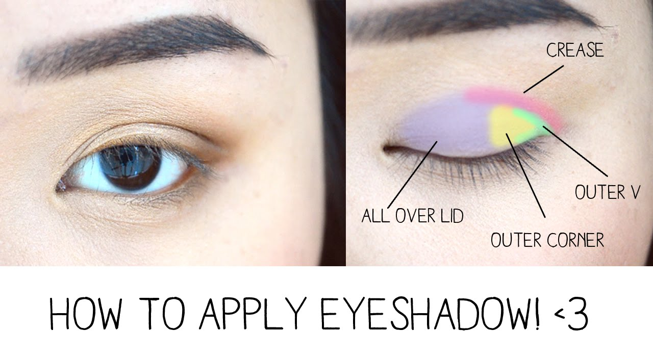 How to makeup eye shadow