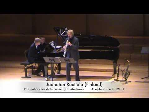 3rd JMLISC Joonatan Rautiola (Finland) L'incandescence de la bruine by B. Mantovani