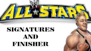 Jack Swagger - All Signatures and Finisher - WWE All Stars