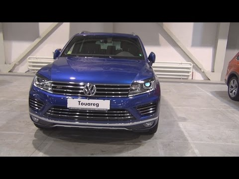Volkswagen Tourareg V6 3 0 TDI BMT 4MOTION (2016) Exterior and Interior in 3D