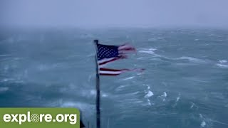 Witness Hurricane Florence's Arrival on Explore.org FryingPan Cams!