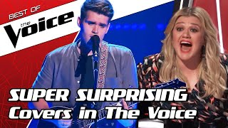 TOP 10 | MOST SURPRISING COVERS in The Voice