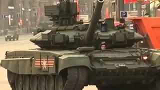 Video  Vũ khí Nga rầm rập tiến vào trung tâm thủ đô Moscow