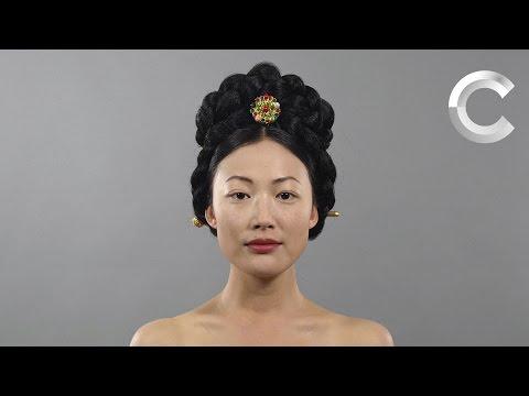 100 años de belleza femenina coreana en un minuto