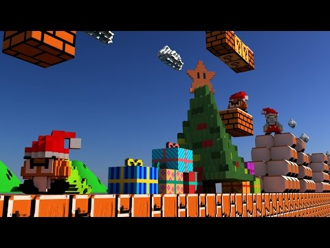 Super Mario Bros 3D 360 VR - Merry Christmas and Happy New Year