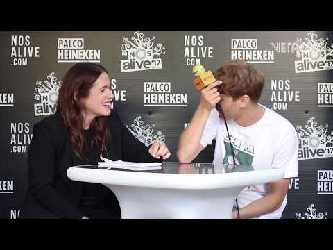 Interview with Dave Bayley from Glass Animals at NOS Alive 2017