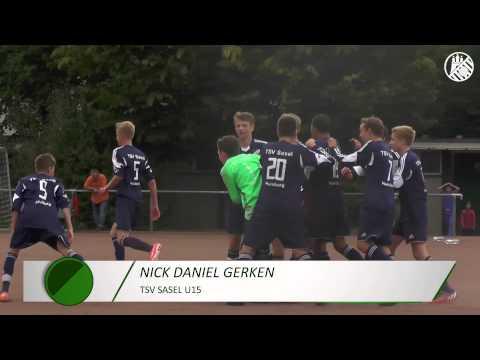 Tor von Nick Daniel Gerken (TSV Sasel U15) | ELBKICK.TV