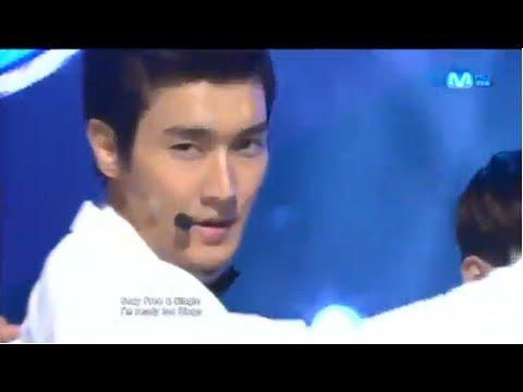 Super Junior(슈퍼주니어) - Sexy, Free & Single 120830 Mcountdown