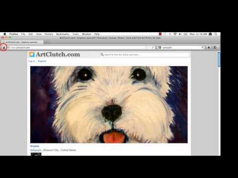 Check out great features of ArtClutch.com - Part 1 of 2