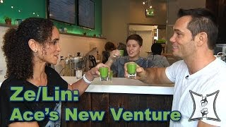 Rich Franklin Talks Ze/Lin Juice Shop