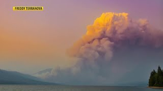 Glacier National Park remains open; fire is affecting only a small area