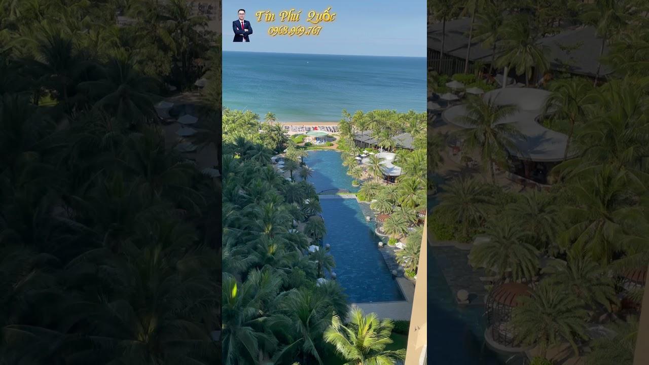 Khó khăn TC, bán căn hộ cao cấp InterContinental Phú Quốc, 87.9m2 1 PN, lãi 550tr/năm. View ôm biển video