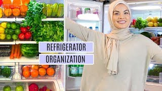FRIDGE ORGANIZATION IDEAS   Clean & Organize with me Vlog