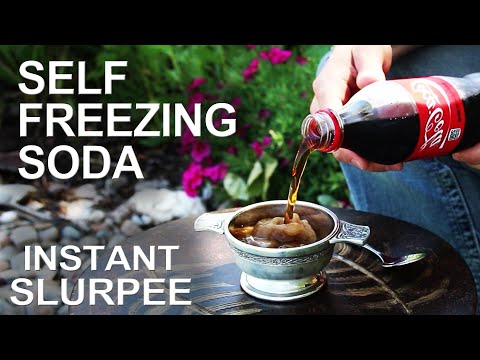 Turn Any Soda Into A Slushie With This Tip