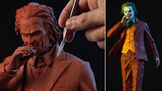 Sculpting JOKER 2019 | Joaquin Phoenix - Timelapse