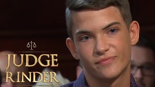 Sarcastic Youth Gets On Judge Rinder's Nerves | Judge Rinder