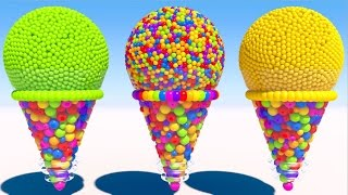 Learning Colors with 3D Cone Ice Cream