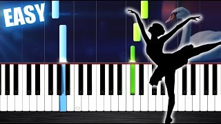 Tchaikovsky - Swan Lake Theme - EASY Piano Tutorial by PlutaX