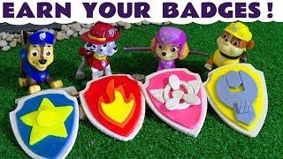 Paw Patrol Play Doh Stop Motion with Toy Train Candy Minions at McDonald's & Cars McQueen TT4U