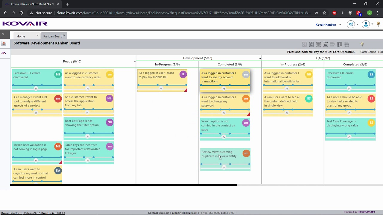 Cloud Kanban Help Video