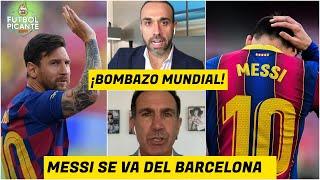 ¡BOMBAZO! Lionel Messi NO seguirá con el Barcelona. Se CAYÓ la negociación   Futbol Picante