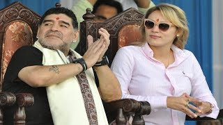Find out how Diego Maradona was greeted at his statue unveiling at Kolkata  Maradona
