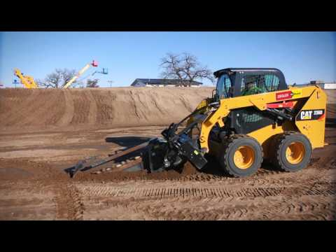 Cat® Trencher Attachment