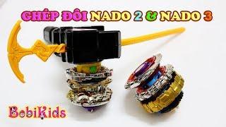 Sẽ như thế nào nếu Nado 3 ghép với bộ đôi Nado 2 - INFINITY NADO #BoBiKids Channel