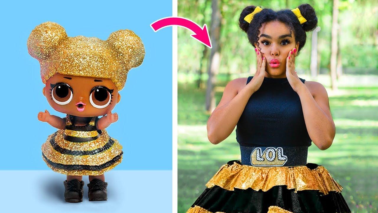 Bonecas Lol Surprise Na Vida Real 10 Ideiais De Roupas E
