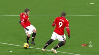 West Brom vs Manchester United 17 December 2017 Gameplay