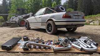 BMW Truck Gets an eBay Turbo Kit