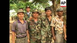 CAMBODIA: KHMER ROUGE DENY THEY ARE ON VERGE OF COLLAPSE