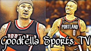 (Breaking News) Portland Trail Blazers Sign Carmelo Anthony to Non-Guaranteed Contract!!!