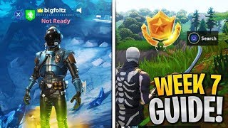 Week 7 Challenges Guide! Follow the treasure map in Pleasant Park, Score a goal on different Pitches