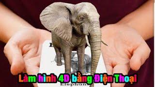 Tú Nguyễn Vlogs - Hướng Dẫn Làm Hình 4D Trên Điện Thoại Cực Đẹp Đang Hót Trên Tiktok